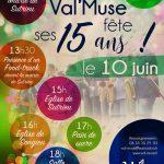 Journée festive des 15 ans de Val'Muse le 10 juin dans le Valromey