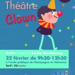 Atelier Théâtre clown samedi 22 février