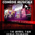 Hello Broadway ! Sortie de l'atelier Comédie Musicale le 14 avril à l'école de Champagne