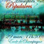 """Concert des profs """"Musiques populaires?"""" : ANNULÉ"""