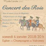 Clorinde : un concert pour fêter les Rois et la nouvelle année, samedi 6 janvier, 20 heures, église de Champagne en Valromey
