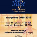 Inscriptions 2018-19