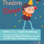 Premier Atelier Théâtre clown le samedi 19 octobre