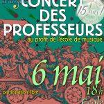 Concert Des Profs De Val'Muse : Dimanche 6 Mai À 18 H À L'école De Champagne