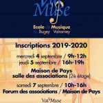 INSCRIPTIONS 2019-2020