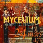 Mycelium : dimanche 24 mars à 17h à l'église de Champagne