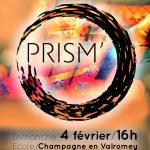 PRISM en concert le 4 février à 16h à l'école de Champagne