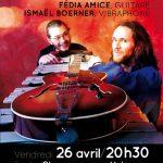 Le duo PRISM', vendredi 26 avril à 20h30 à l'école de Champagne