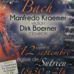 Inter'Vals 2020 : Manfredo Kraemer & Dirk Boerner le 12 septembre en l'église de Sutrieu à 18h30 et 21h